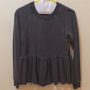 Great Sweatshirt Flowy top from Urban Outfitters